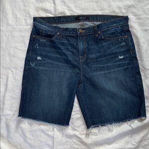 "J BRAND ""Syntehsis"" Cutoff Bermuda Shorts-31 NWOT"